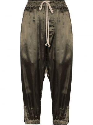 Spodnie khaki - zielone Rick Owens