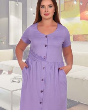 Халат фиолетовый сиреневый инсантрик