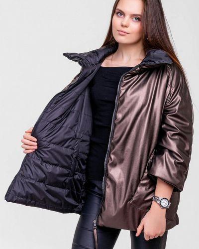 Утепленная куртка демисезонная черная Sfn
