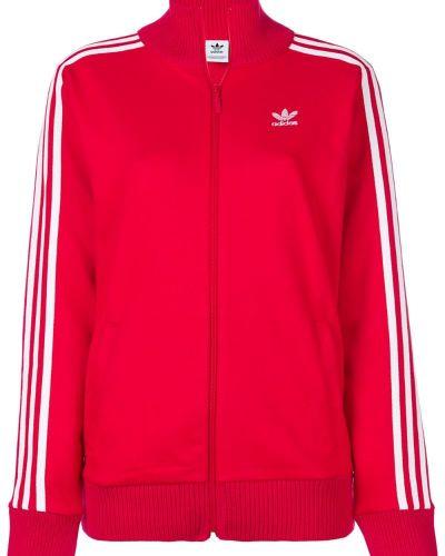 Длинная куртка спортивная с вышивкой Adidas Originals