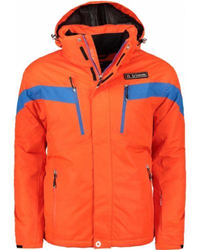 Pomarańczowa ciepła kurtka materiałowa Trimm