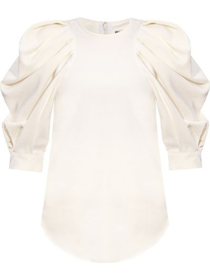 T-shirt elegancka - biała Isabel Marant