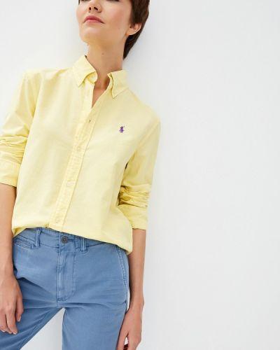 Рубашка с длинным рукавом индийский желтый Polo Ralph Lauren