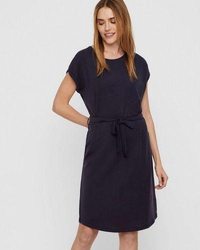 Платье прямое синее Vero Moda