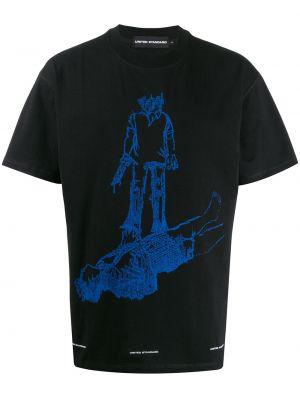 Черная футболка United Standard