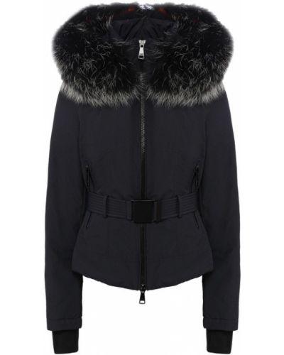 Утепленная куртка с поясом с перьями Odri