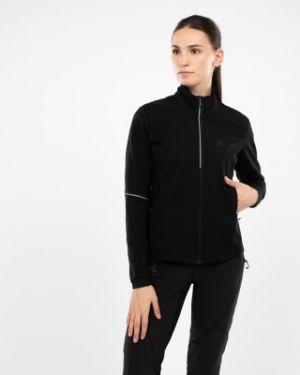 Куртка с капюшоном черная спортивная Salomon