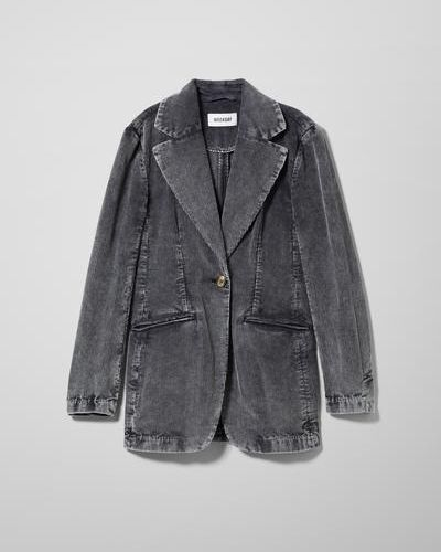 Куртка вельветовая - черная Weekday