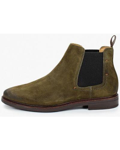 Зеленые ботинки Salamander