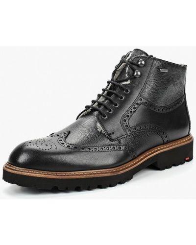 Ботинки осенние кожаные высокие Lloyd