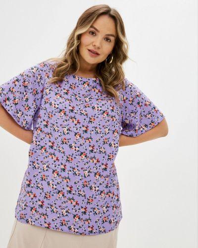 Фиолетовая весенняя блузка Prewoman