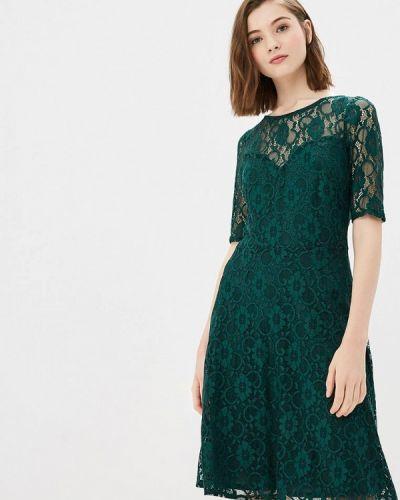 Зеленое платье осеннее Wallis