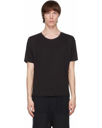 Czarny t-shirt krótki rękaw bawełniany Blackmerle
