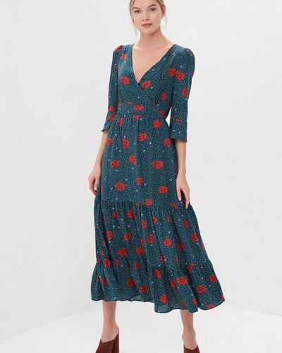 Платье весеннее зеленый Sweewe