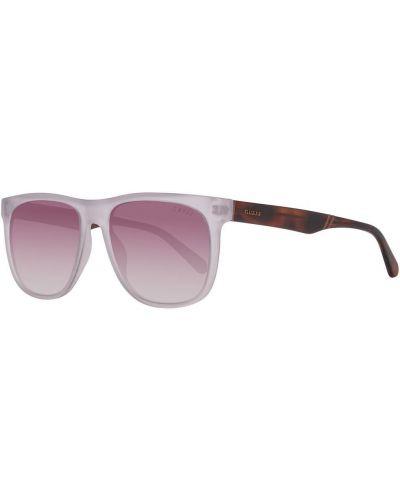 Białe okulary Guess