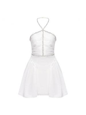 Платье с подкладкой - белое Self-portrait