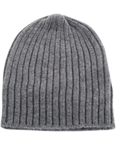 Szara czapka beanie Fedeli