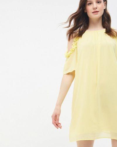 Желтое платье Miss Miss By Valentina