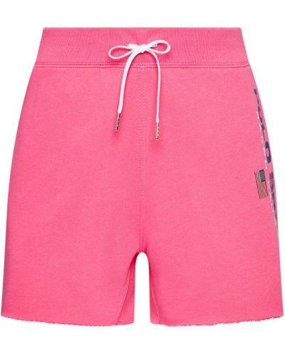 Różowe spodenki sportowe Polo Ralph Lauren
