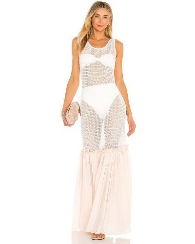Sukienka z siateczką bawełniana Chio