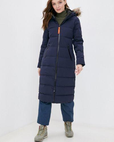 Утепленная синяя куртка Icepeak