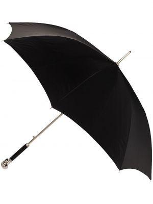 Czarny parasol oversize Alexander Mcqueen