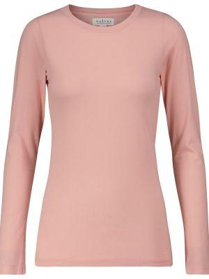 Бархатный топ - розовый Velvet