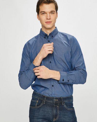Рубашка с длинным рукавом хлопковая с узором Tom Tailor Denim