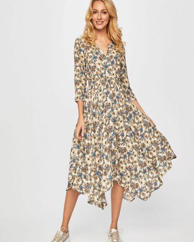 Платье из вискозы расклешенное Desigual