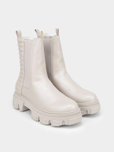 Ботинки челси - бежевые M Wone