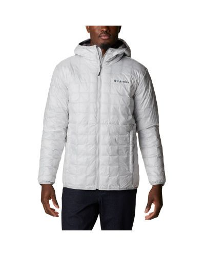 Серая теплая куртка Columbia