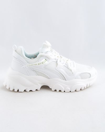 Белые зимние кроссовки Baas