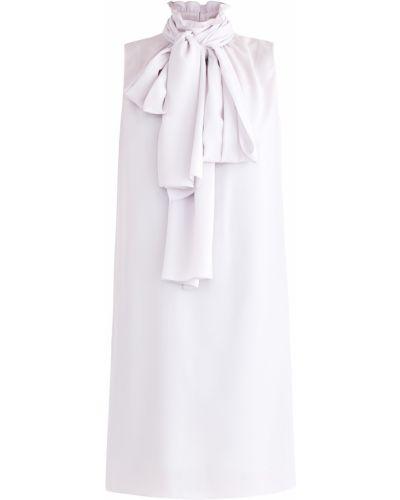 Платье мини с бантом с оборками A La Russe