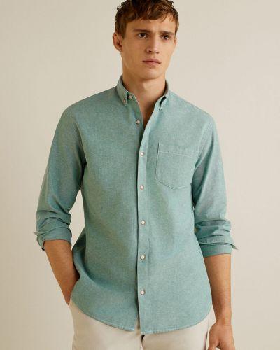 Рубашка с длинным рукавом оксфордская хлопковая Mango Man