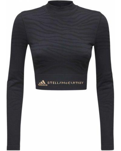 Топ - черный Adidas By Stella Mccartney