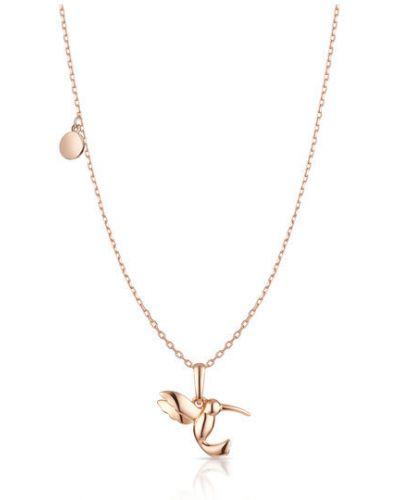 Wisiorek - różowy W.kruk
