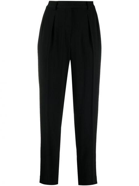 Деловые со стрелками черные брюки A.p.c.