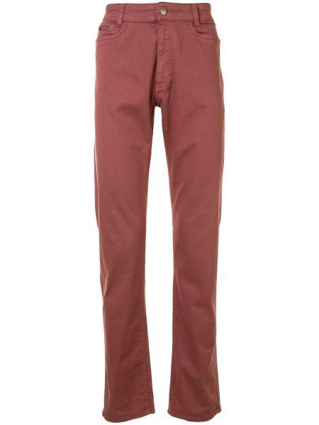 Klasyczne jeansy bawełniane z paskiem Gieves & Hawkes