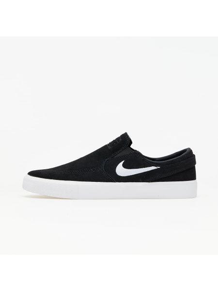 Czarny poślizg Nike