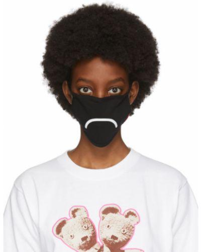 Ватная хлопковая белая маска для лица стрейч Marc Jacobs
