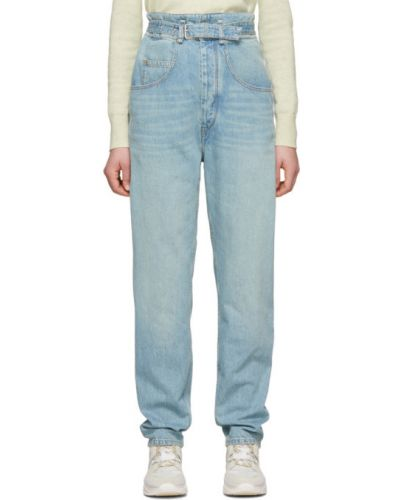 Широкие джинсы mom стрейч Isabel Marant Etoile