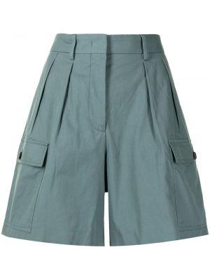 Зеленые хлопковые шорты Paul Smith