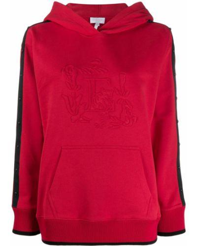 Спортивный костюм с капюшоном - красный Escada Sport