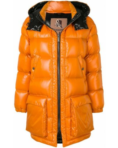 Пальто с капюшоном айвори Sealup