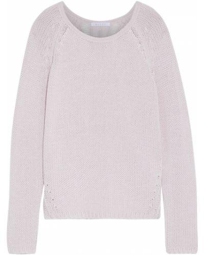 Открытый розовый шерстяной свитер Duffy