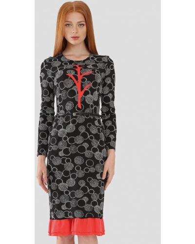 Платье - черное Ано