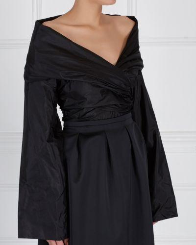 Блузка блузка-трапеция шелковая The Row