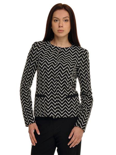 Шерстяной серый пиджак Armani Collezioni