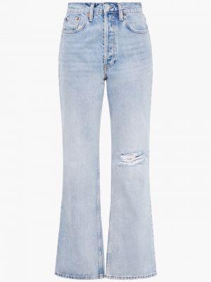 Хлопковые джинсы - синие Re/done
