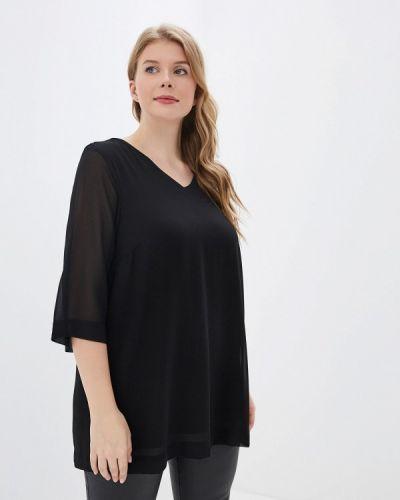 Блузка черная Zizzi
